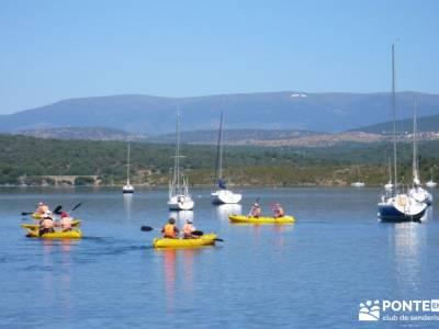 Piragua El Atazar;viajes culturales españa viajes con actividades excursiones de fin de semana desd